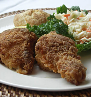 Fried Chicken - gebratenes Huhn
