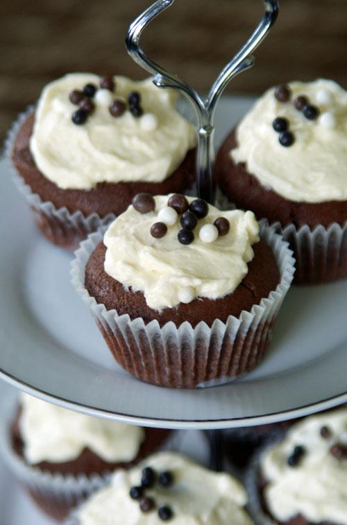 USA-Rezept für Red Velvet Cupcakes
