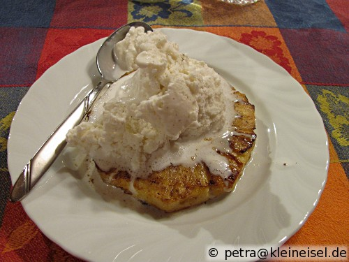 Grilled Pineapple (gegrillte Ananas)