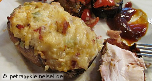 Hash on the half shell (zweifach gebackene Kartoffeln)