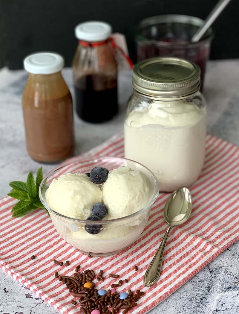 USa-Rezept für Frozen Yogurt