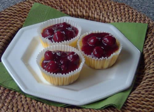 Mini Cheesecakes (kleine Käsekuchen)