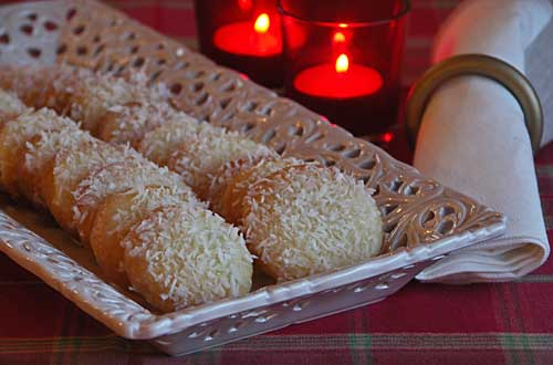 USA-Rezept für Mint Snowball Cookies