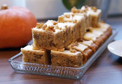 Pumpkin Cake (schneller Kürbiskuchen)