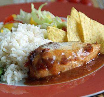 Rezept für Salsa Chicken aus den USA
