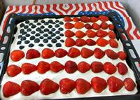 Flaggen-Kuchen