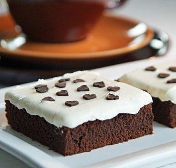 Rezept für Mascarpone Brownies aus den USA