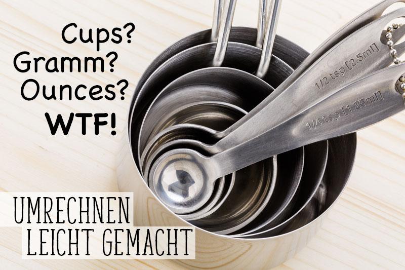 Umrechnen von US-Maßen in deutsche