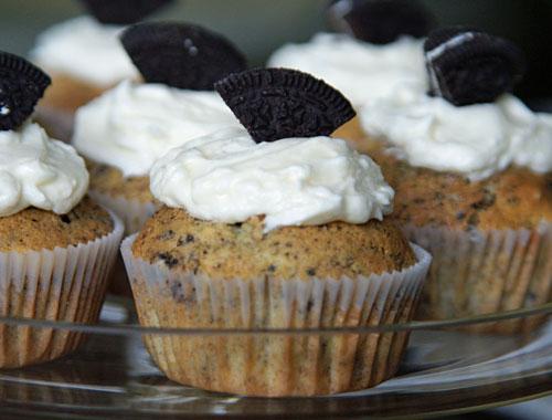 Rezept für Oreo Cupcakes