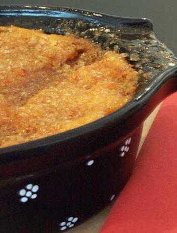 Rezept für Sweet Potato Casserole aus den USA
