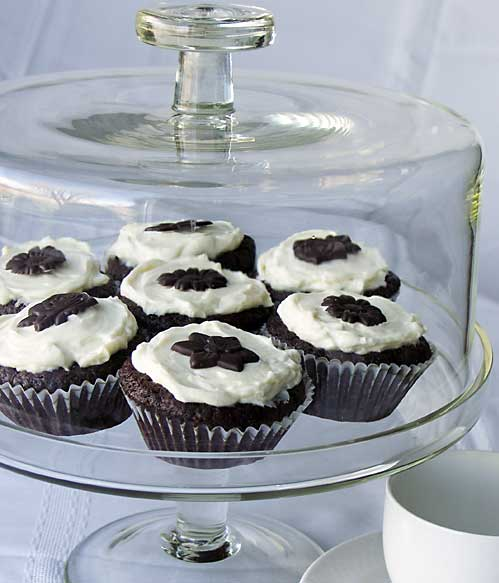 Secret Cupcakes (geheimnisvolle Schokotörtchen)