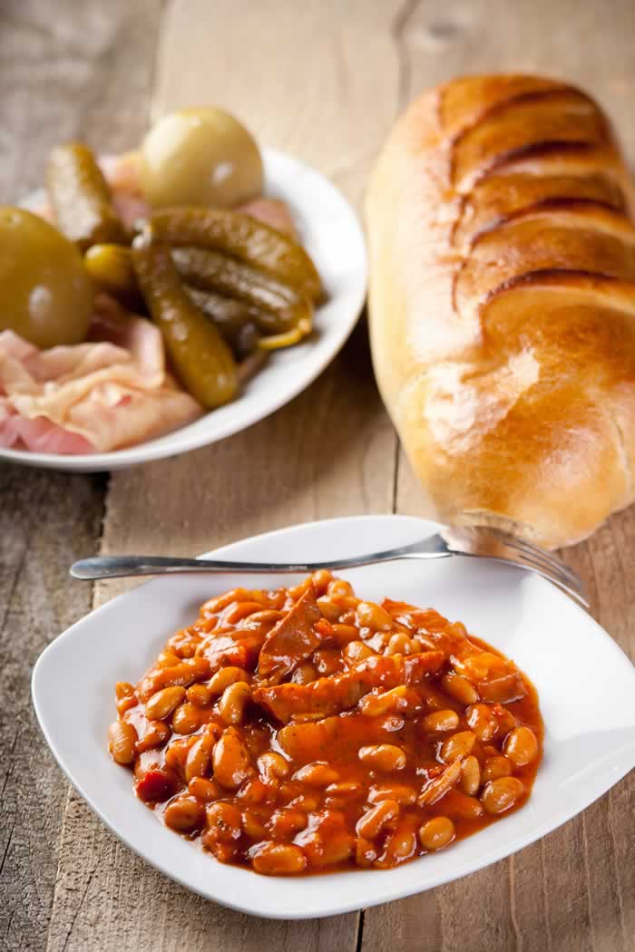 Bacon and Beans aus Neuengland