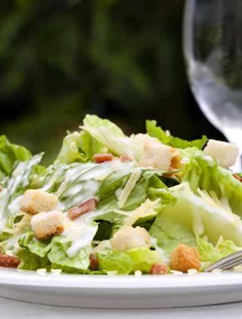 Caesar salad aus Kalifornien