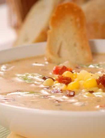 Corn Chowder - Maissuppe