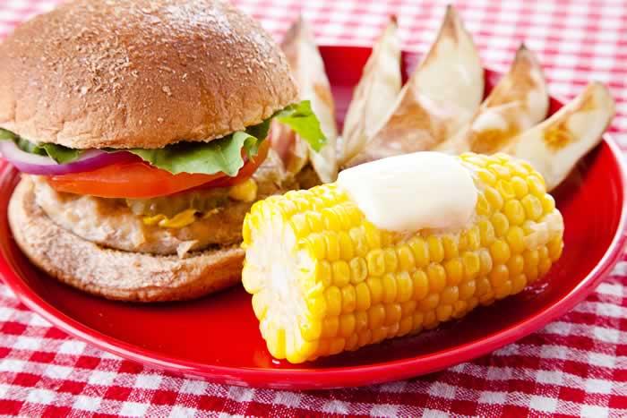Corn on the Cob / Maiskolben