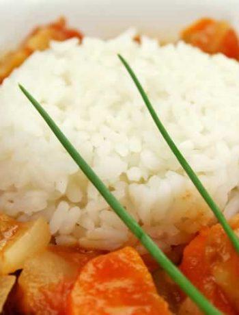 Reisgericht Gumbo aus den Südstaaten