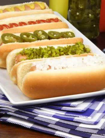 Hot Dogs - Wurst im Brötchen