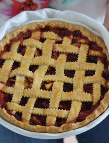 Peach Pie / Pfirsichkuchen mit Giter