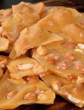 Peanut Brittle - Erdnusskonfekt