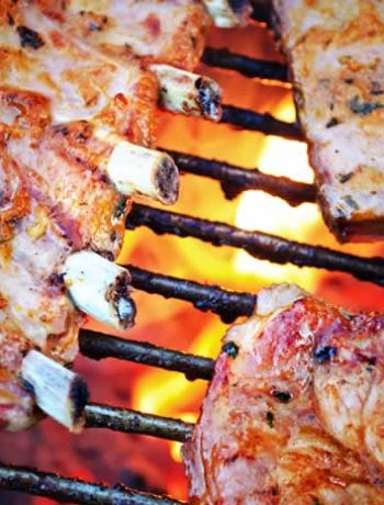 Rippchen vom BBQ