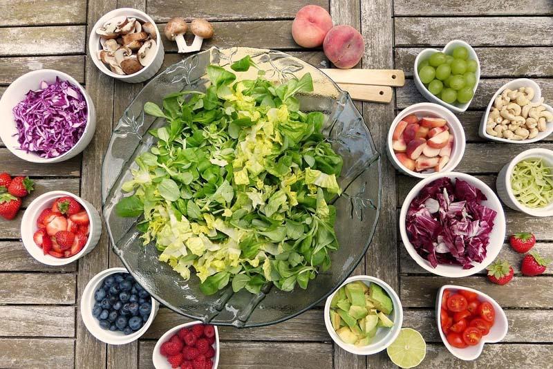 Salat und Salat Dressings in den USA
