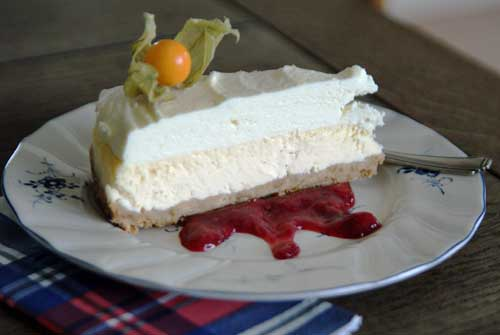 Desserts a la USA - TGI Fridays Vanilla Bean Cheesecake