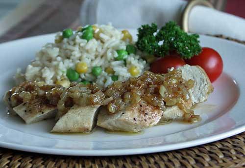 Bourbon Chicken New Orleans Style