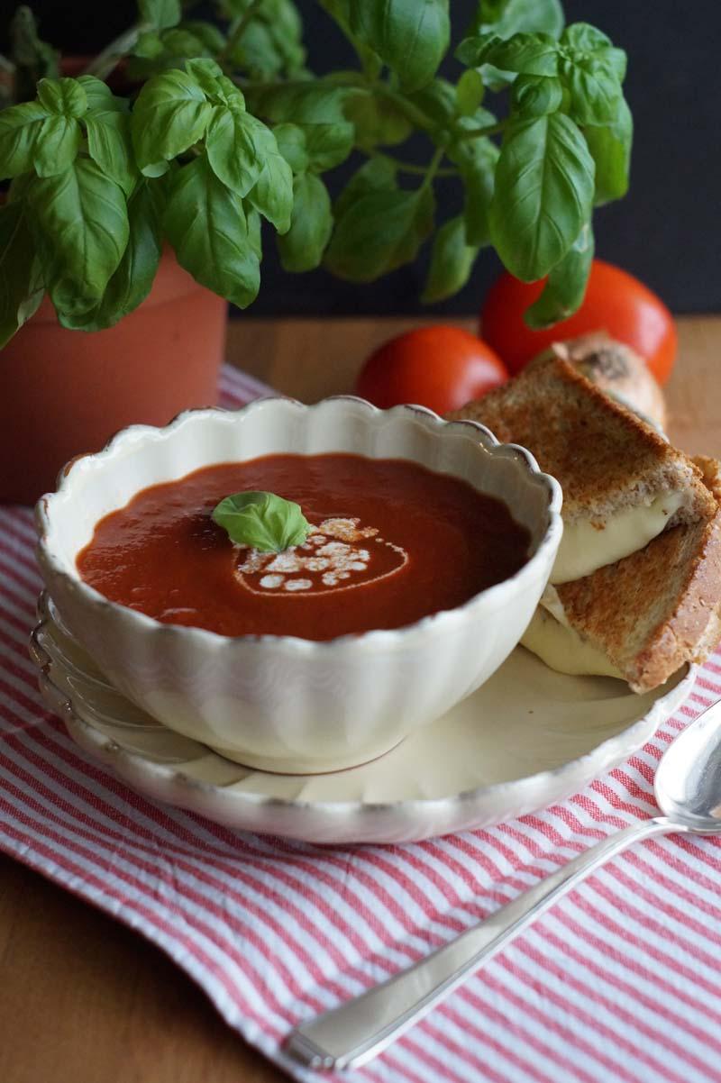 USA-Rezept für Tomatensuppe