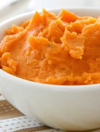 Sweet Potato Puree / Süßkartoffelpüree