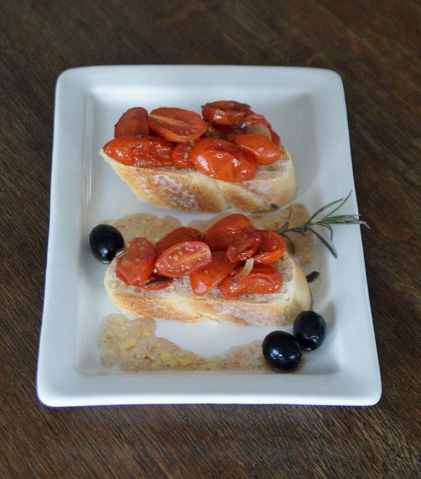 Oven-Baked Balsamic Cherry Tomatoes (geröstete Tomaten)