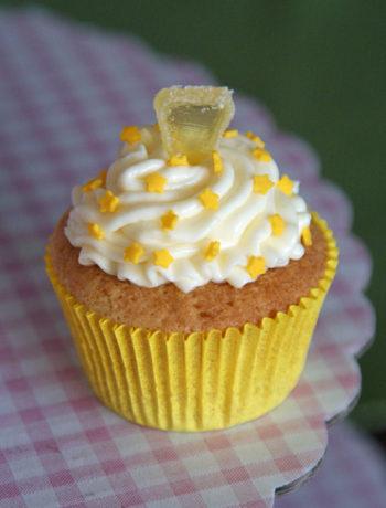 Rezept für Lemon Cupcake / Zitronenküchlein