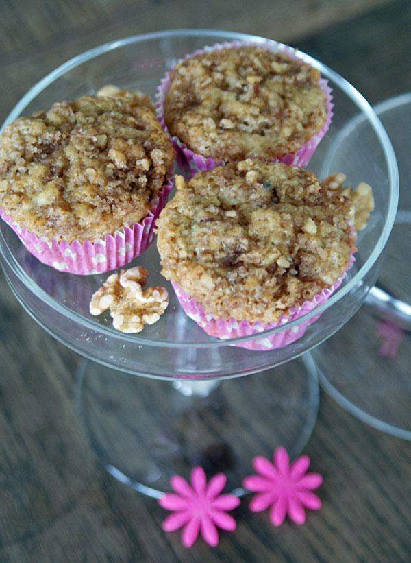 Rhubarb Muffins (Rhabarber-Muffins)