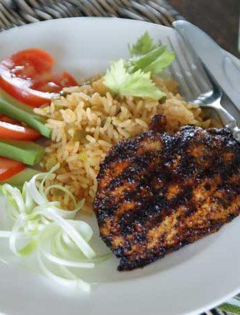 Rezept für Blackened Chicken