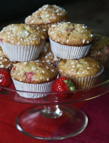 Erdbeer-Joghurt-Muffins