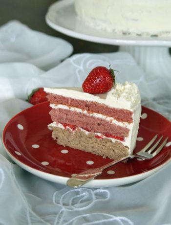Erdbeer-Schichttorte