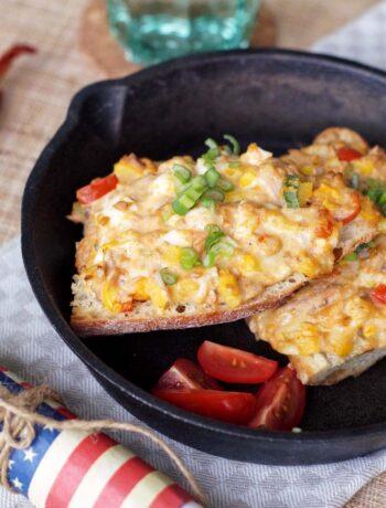 USA-Rezept für Texas Tuna Melt Sandwich