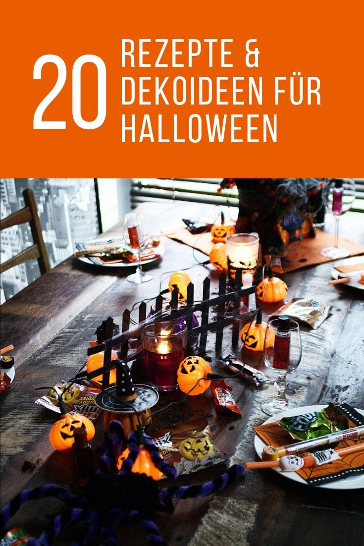 Halloween-Rezepte und Dekoideen