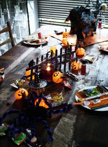 Halloween-Tisch