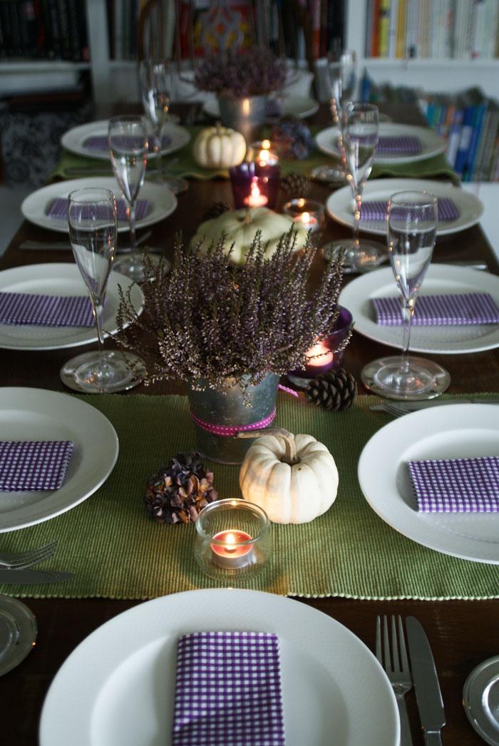 Thanksgiving-Deko 2012