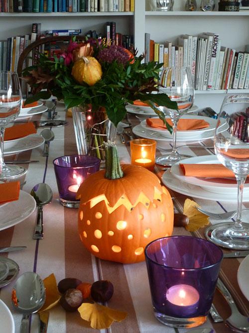 tipps tricks tisch dekorieren f r thanksgiving. Black Bedroom Furniture Sets. Home Design Ideas