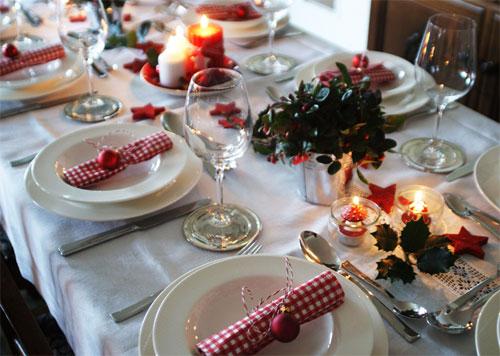 Weihnachtstafel 2012