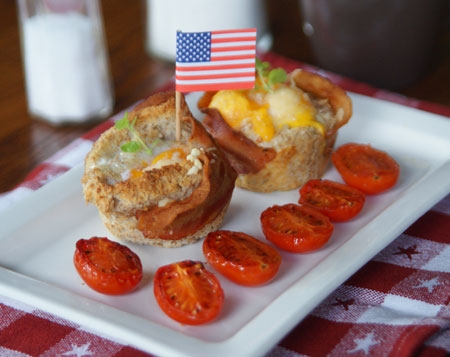 Bacen, Egg & Toast Cups