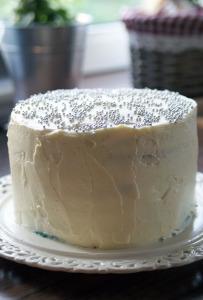 Kuchen mit Frosting