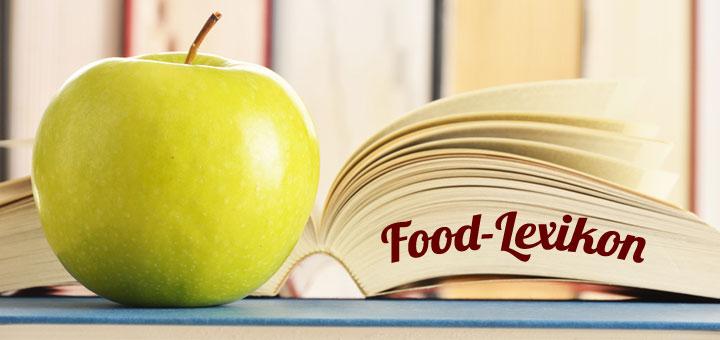 Food Lexikon deutsch-englisch
