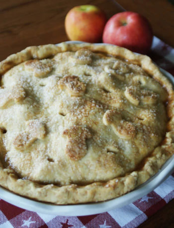 Apple Pies backen