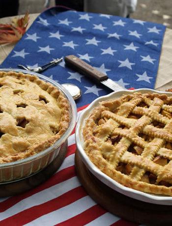 Apple-Pie und Peach-Pie