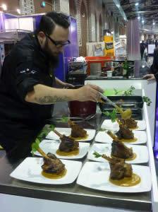 Koch bei der Eat & Style