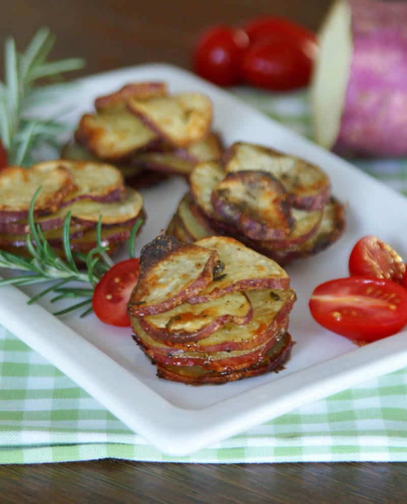 Sweet Potato Stackers (Süßkartoffel-Türmchen)