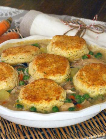 Chicken & Biscuits aus dem Backofen