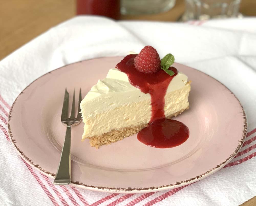 Copycat Rezept für Vanilla Cheesecake wie bei TGI Friday
